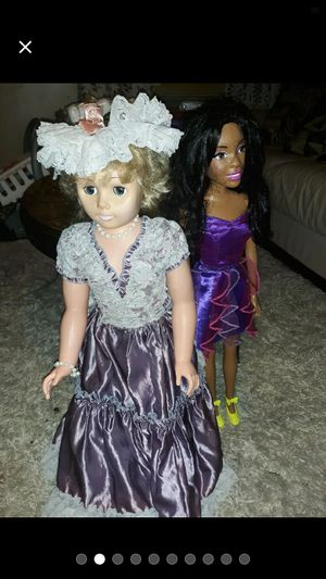 Two Tall dolls collection for Sale in New Canton, VA
