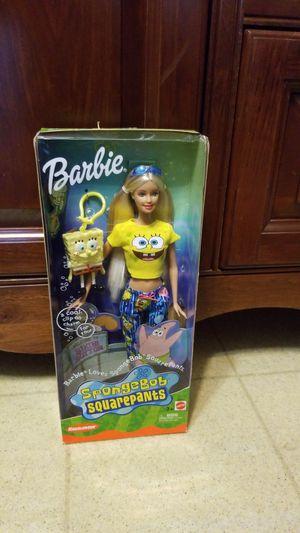 NBI BARBIE Loves SpongeBob SquarePants for Sale in Chippewa Falls, WI