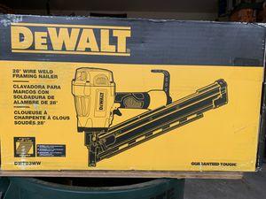 DEWALT Pneumatic 28-Degree Framing Nailer - IN BOX for Sale in Spring, TX