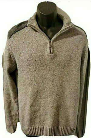Haggar Solid Gray Sweater for Sale in Middletown, MD