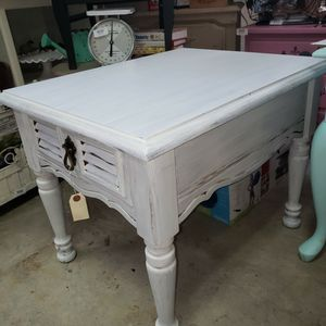 Solid Wood End Table for Sale in Portland, OR