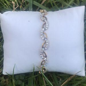"925 silver bracelet 7.5"" for Sale in Baltimore, MD"