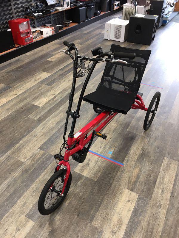Sun Seeker Electric Motorized Bike e48 Delta SX E-Trike Bicycle - 30 MPH