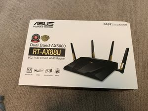 Asus RT-AX88U AX6000 WiFi 6 Router for Sale in Aloha, OR