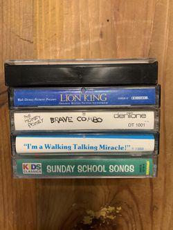 Kids vintage cassette tapes for Sale in Lorena,  TX