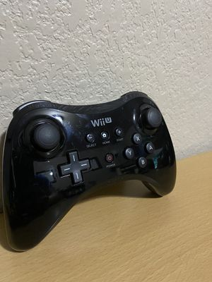Nintendo Wii U Pro Controller for Sale in Temple, TX
