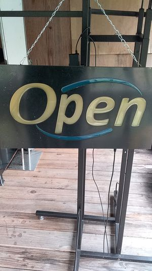 Open Sign for Sale in Palmetto, LA