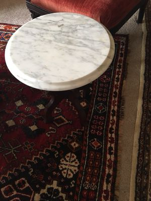 Antique made in Italy Marble and wood small tables not matching for Sale in McLean, VA