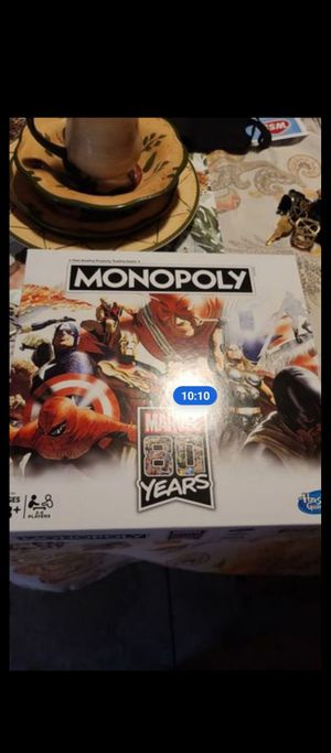 Marvel 30 years monopoly board game for Sale in Bakersfield, CA