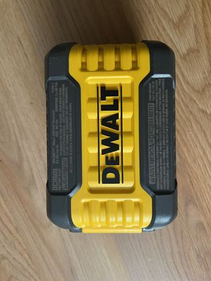DeWalt Flexvolt 9.0 ah Battery 20-volt/60-volt for Sale in Dallas, TX