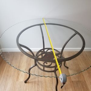 "45"" Diameter Glass Top Table for Sale in Pittsburgh, PA"
