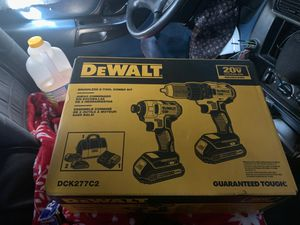 Dewlalt combo kit for Sale in Tacoma, WA