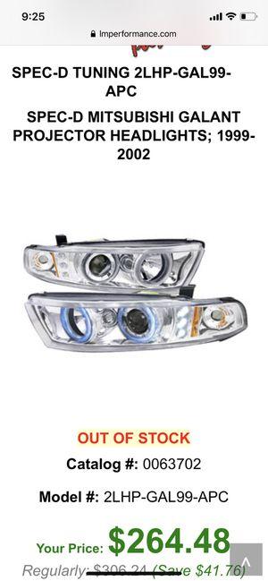 Mitsubishi Galant headlights for Sale in Baldwin Park, CA