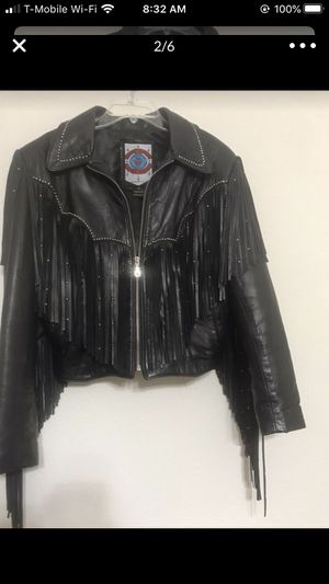 Woman leather jacket for Sale in Winter Springs, FL