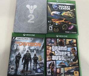 Xbox One games in perfect condition for Sale in Owosso, MI