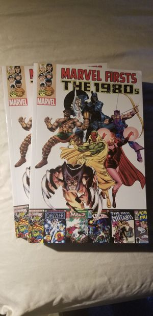 Marvels Firsts The 1980s Comic for Sale in Santa Clara, CA