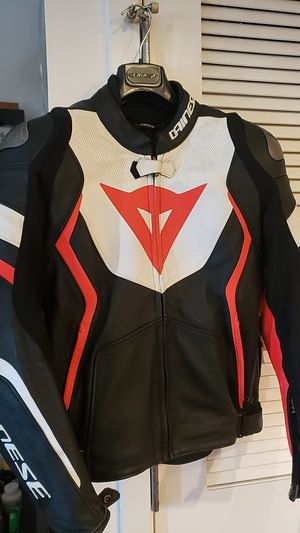 DAINESE Avro Perf Leather Jacket-Eur 48 for Sale in San Francisco, CA