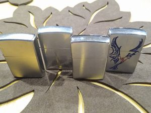 FOUR ZIPPO LIGHTER'S for Sale in Modesto, CA