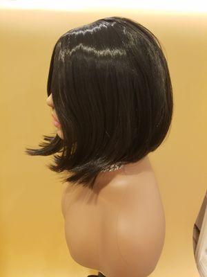 Short Black Straight Wig for Sale in Hudson, FL