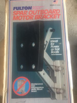 Fulton Outboard motor bracket for Sale in West Seneca, NY