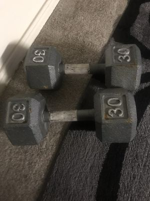 Pair of 30 lbs Dumbbells for sale for Sale in Draper, UT