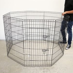 "$45 (brand new) dog playpen 8-panel x (42"" tall x 24"" wide) for Sale in Whittier, CA"