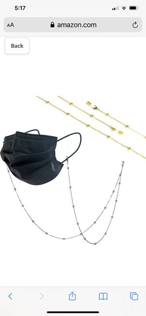 2PC Face Mask Chain Holder for Sale in Worthington, OH