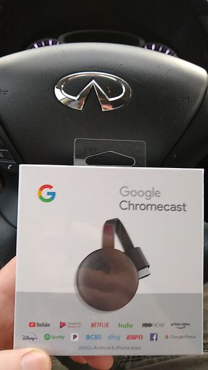 Google Chromecast 3rd generation for Sale in Cape Coral, FL