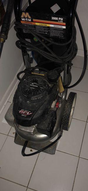 GCV 190 Honda 3000 psi pressure washer for Sale in Hyattsville, MD