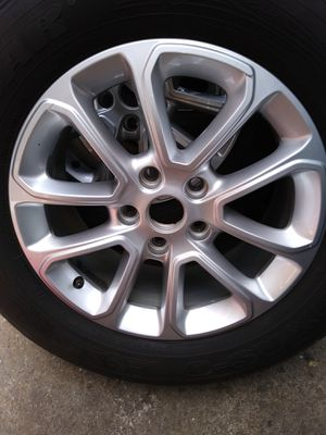 "Clean 18"" Grand Cherokee rims & tires for Sale in Bridgeport, PA"