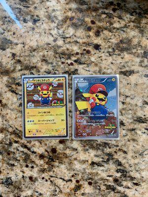 Mario Pikachu Pokemon Cards for Sale in Moreno Valley, CA