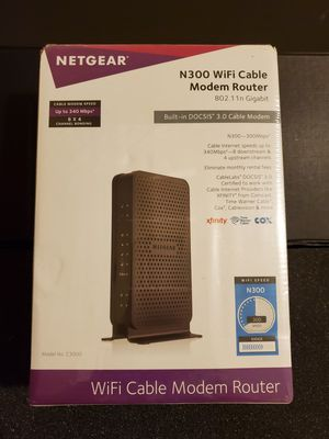 Netgear modem router for Sale in Chicago, IL