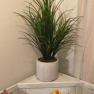 Fake Plant In Porcelain Pot for Sale in Glendora, CA