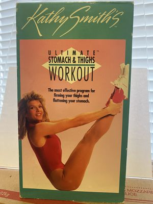 Kathy Smiths Ultimate Stomach & Thighs Workout 🏋️♂️ VHS 📼 Vintage for Sale in Albuquerque, NM