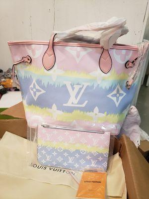 Latest LV neverfull bag 2020 handbag for Sale in Orlando, FL