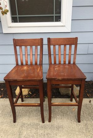 2 bar height stools for Sale in Edgewood, WA