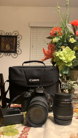 Canon EOS Rebel T6 (Great Condition) for Sale in Pumpkin Center, CA