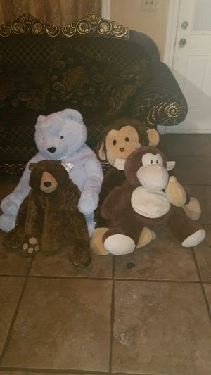 Stuffed animals $5.00 EACH for Sale in Oklahoma City, OK