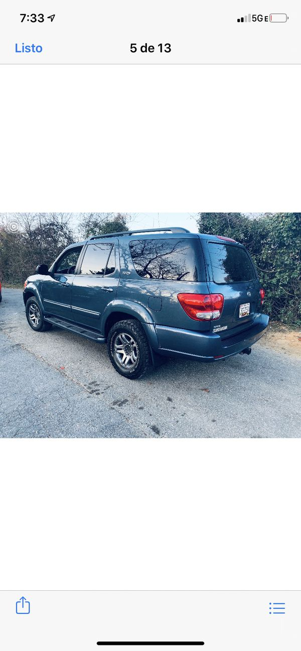Toyota Sequoia 2005 clean title good condition 145 miles