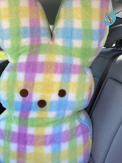 "Peeps 38"" Plaid Marshmallow Plush Easter Giant Bunny Sold Out for Sale in Soledad,  CA"