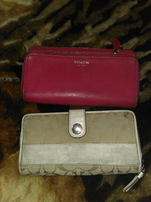 Coach wallets used for Sale in Riverside, CA