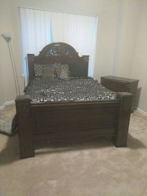 Bedroom set mattress and box spring not included for Sale in Baltimore, MD