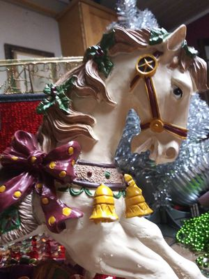 Large musical carousel horse for Sale in Tacoma, WA