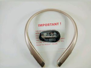 Genuine LG TONE PLATINUM HBS 1100 BLUETOOTH HEADSET GOLD for Sale in Dearborn Heights, MI