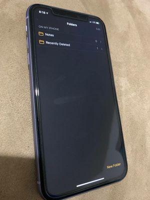 iPhone 11 Unlocked 256GB for Sale in Murfreesboro, TN