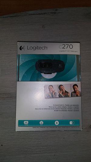 Webcam Logitech - c270 basic webcam with microphone for Sale in Chula Vista, CA
