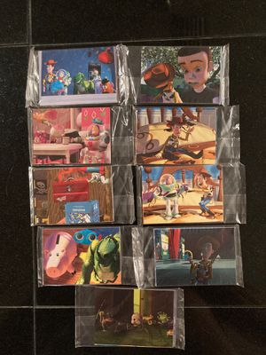 Toy story skybox collectible cards for Sale in Fort Myers, FL