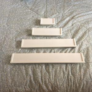 4 White Shelves for Sale in Fort Lauderdale, FL