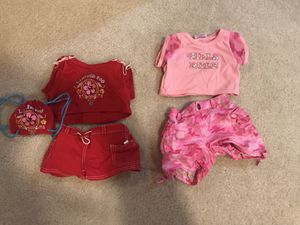 Build a bear girl clothes for Sale in Great Falls, VA