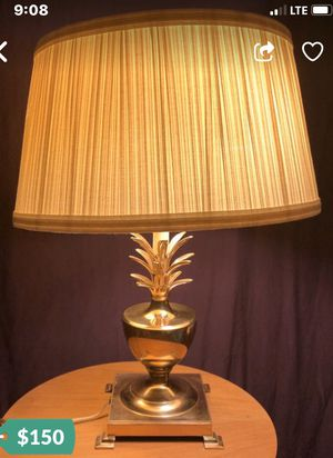 Brass Bombay Pineapple Table Lamp for Sale in Chicago, IL